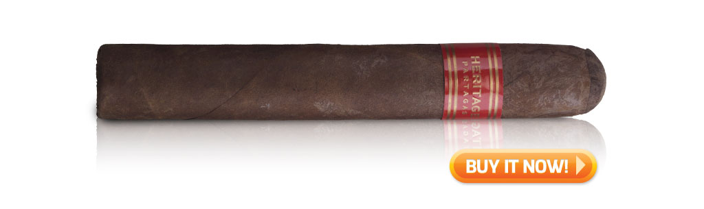 Partagas Heritage Cigar Review Robusto BIN MWC