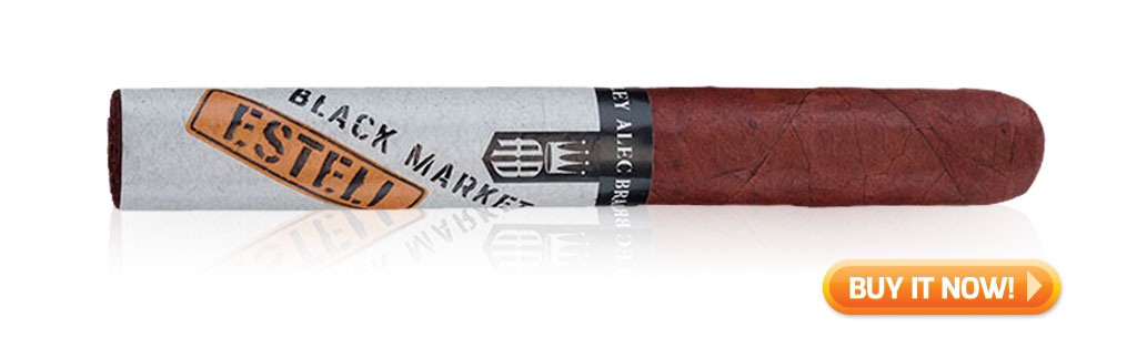 best cigars to pair with whiskey bourbon alec bradley black market esteli cigars