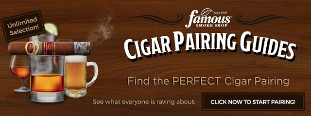 Cigar guides for pairing drinks and cigars banner