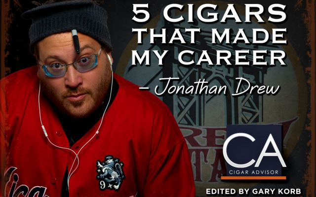 Jonathan Drew top 5 cigars CACover
