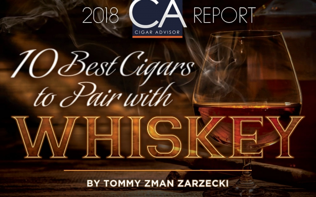 10 best cigars to pair with whiskey CACover