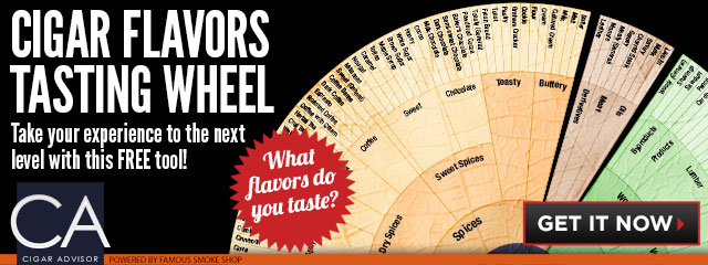 cigar guides Flavor Wheel banner