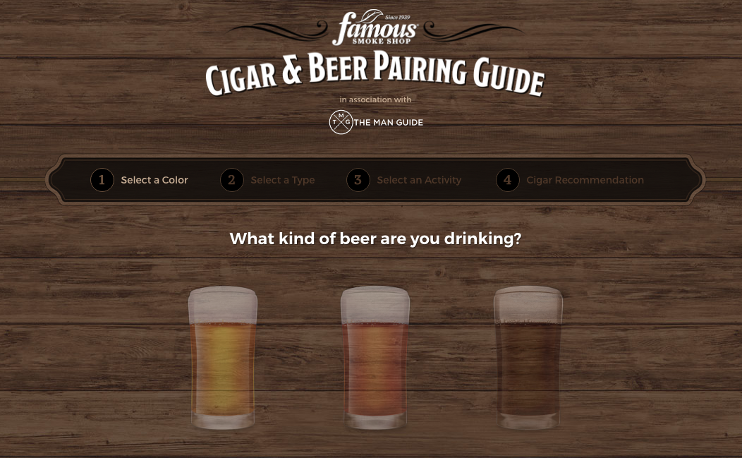 cigar guides beer and cigar pairing 1