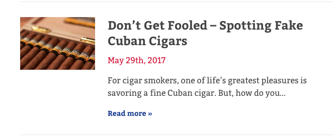 cigar guides how to spot fake cuban cigars