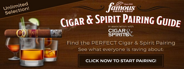 pairing spirits and cigar guides banner