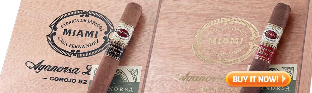 top new cigars jan 12 2018 casa fernandez miami aganorsa cigars