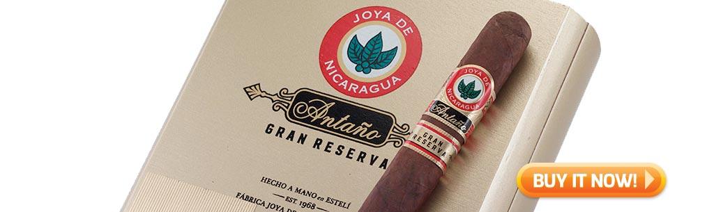 top new cigars jan 26 2018 joya de nicaragua antano gran reserva cigars