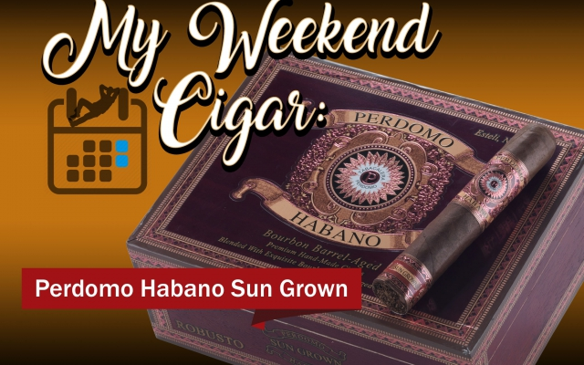 Perdomo Habano barrel aged cigar review CACover MWC