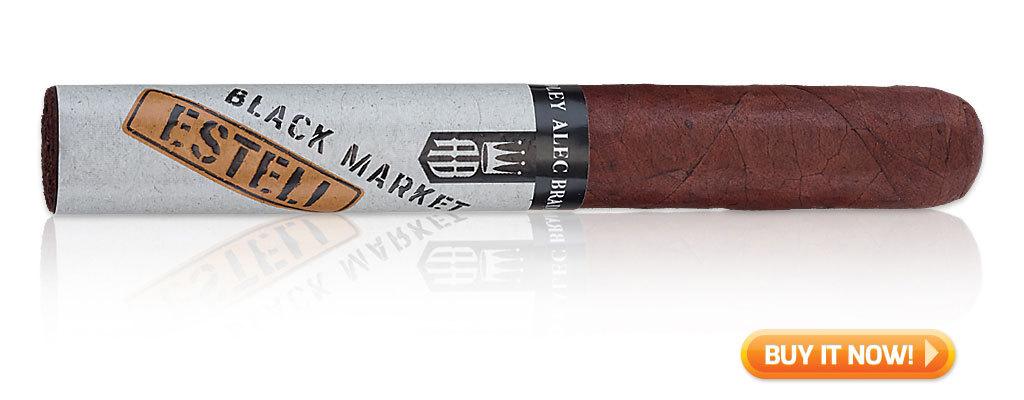alec bradley black market esteli cigar review BIN
