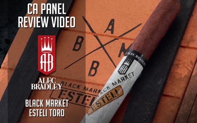 Alec Bradley Black Market Esteli cigar review video CACover
