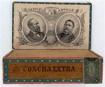 Presidents who smoked cigars James Garfield Chester Arthur