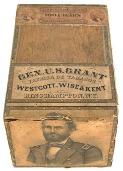 presidents who smoked cigars ulysses s grant