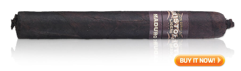 top brazilian wrapper cigars Kristoff Ligero Maduro cigars