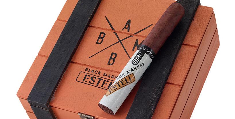alec bradley black market esteli cigar review box