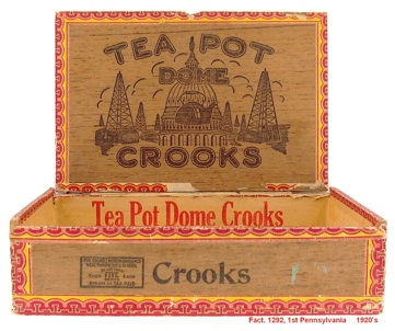 presidents who smoked cigars warren g harding Teapot dome