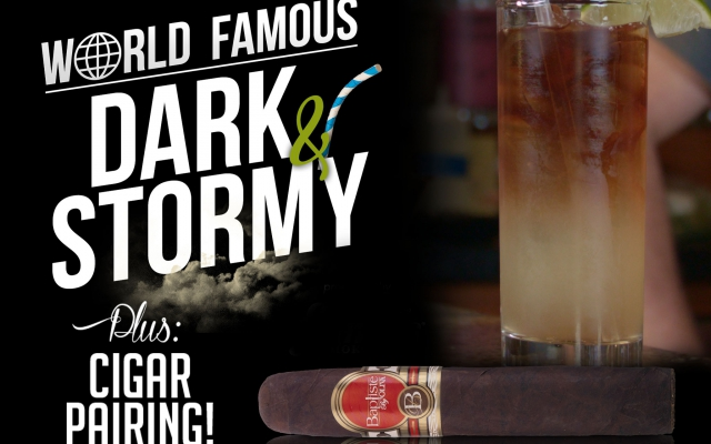 how to make a dark and stormy cocktail and cigar pairing CACover
