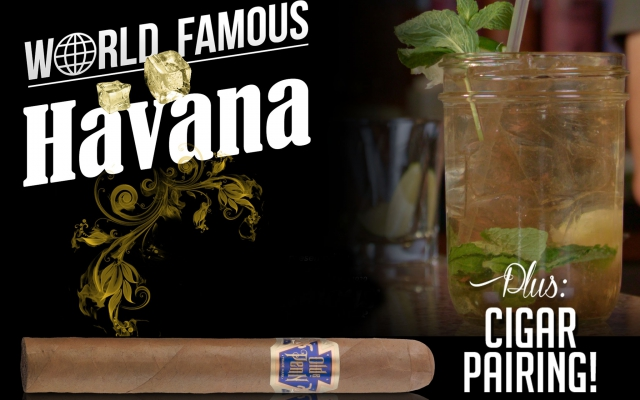 How to make a Havana cocktail cigar pairing CACover
