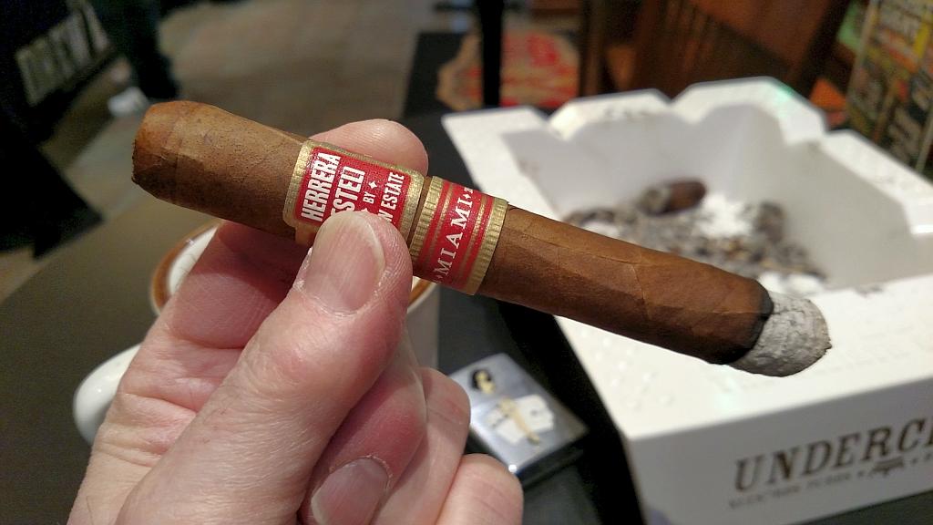 Herrera Esteli Miami cigar review mwc GK