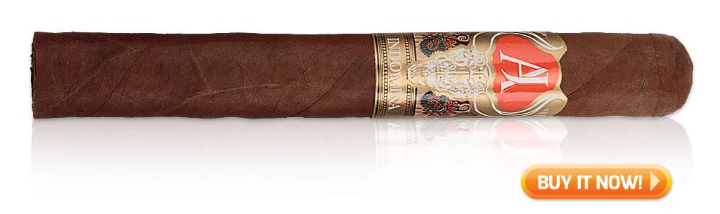 Indomina by AJ fernandez cigar review BIN promo