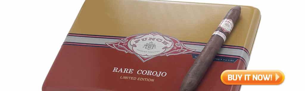 top new cigars March 9 2018 Punch gran puro regalias perfecto