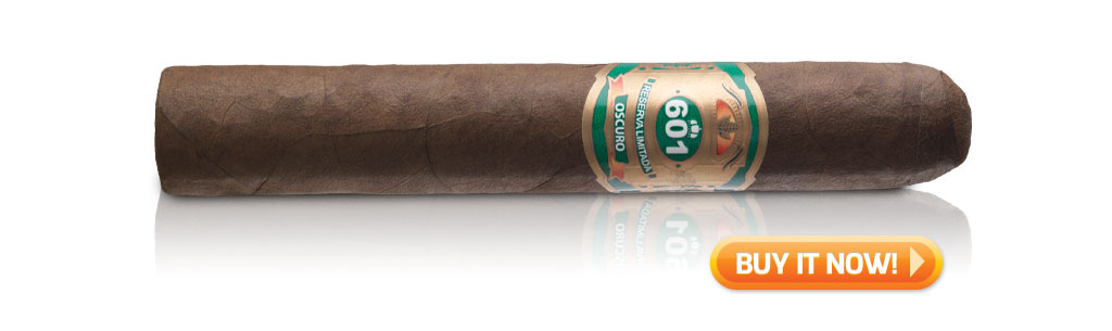 601 Green Label Oscuro Tronco cigar review MWC Buy now