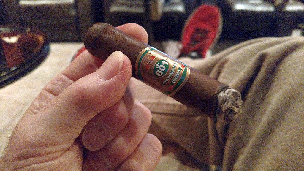 601 Green label Oscuro Tronco cigar review MWC GK