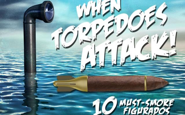 Top 10 torpedo cigars figurados CACover