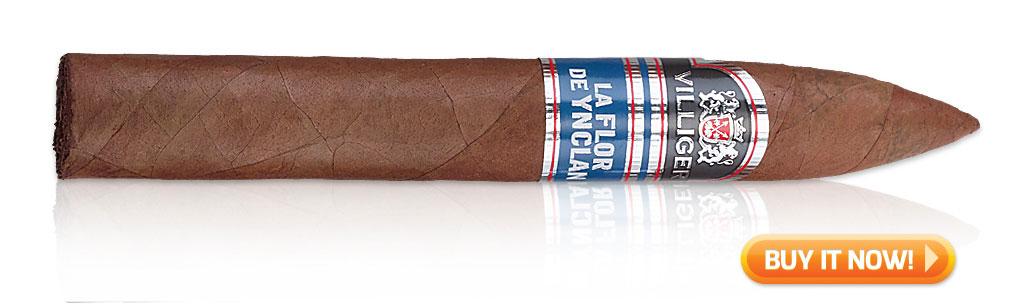La Flor De Ynclan torpedo cigars