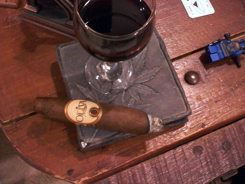 Oliva serie O cigar review serie o perfecto GK MWC