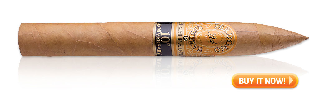 Perdomo Champagne torpedo cigars