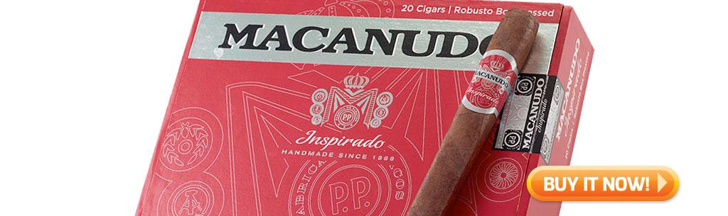 top new cigars april 6 2018 buy macanudo inspirado red cigars