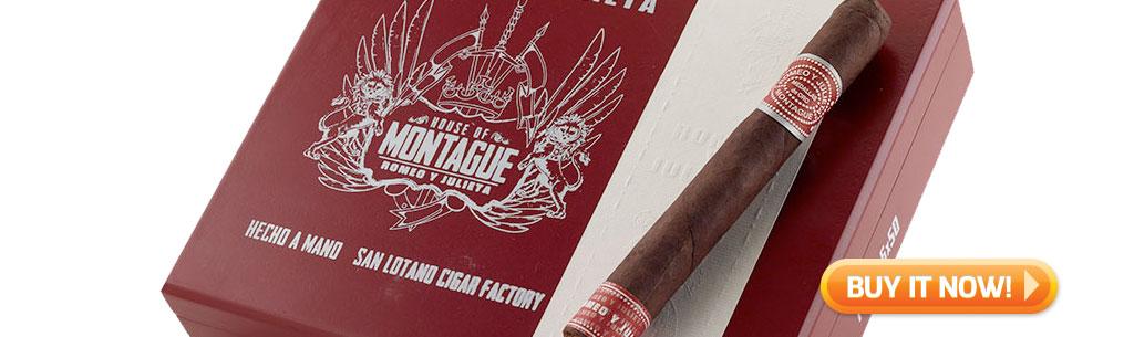 top new cigars april 20 2018 romeo y julieta montague cigars