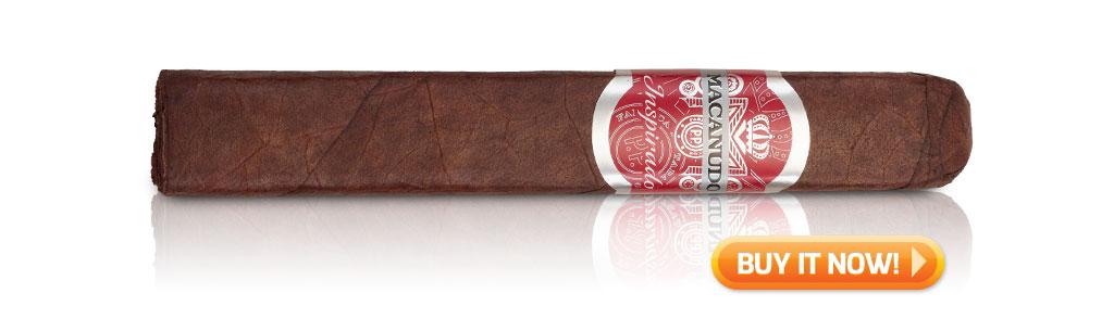 macanudo inspirado red cigar review BIN Robusto box pressed