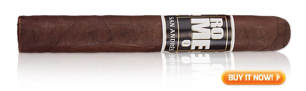 2018 cigars of summer romeo san Andres cigars
