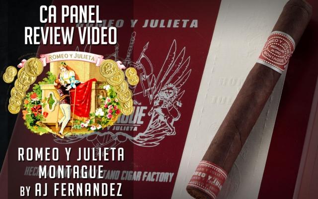 ryj romeo montague by AJ Fernandez cigar review video CACover