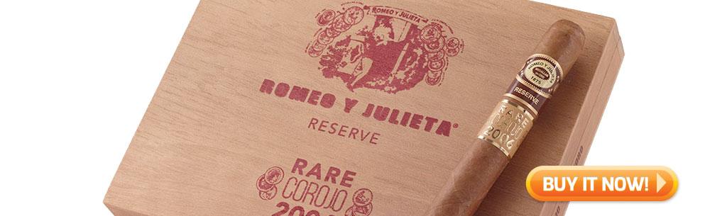 romeo reserve rare corojo cigars top new cigars may 18 2018