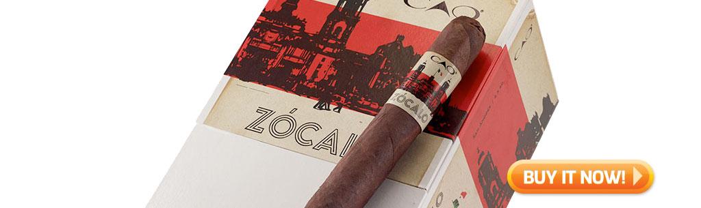 cao zocalo cigars top new cigars may 18 2018