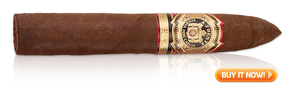 red wine and cigar pairings Arturo Fuente Don Carlos cigars