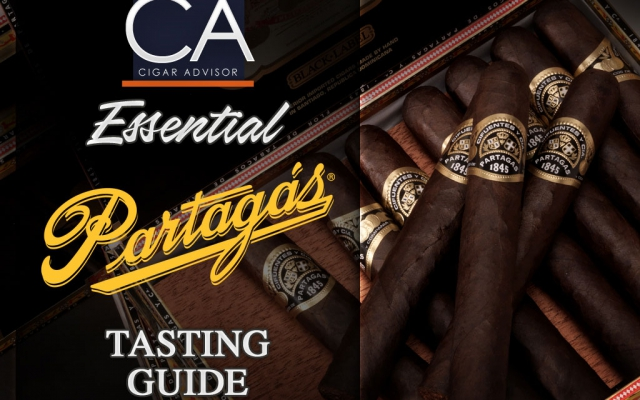 2018 Partagas Cigars Guide CACover