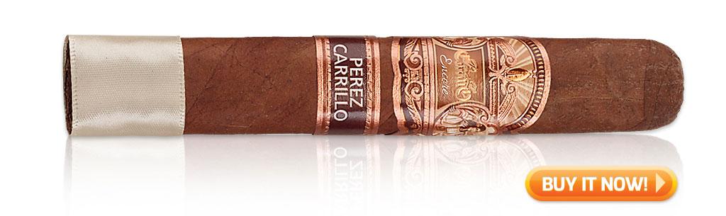 start smoking cigars again Encore by E.P. Carrillo cigars