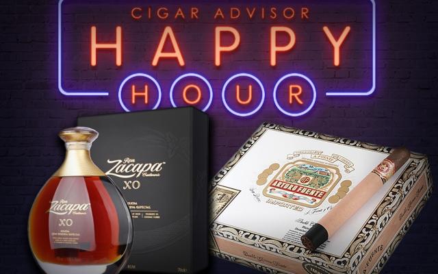 Cigar Pairing Zacapa Centenario XO Fuente Double Chateau CACover