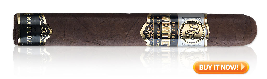 red wine and cigar pairings Rocky Patel 20th Anniversary cigars