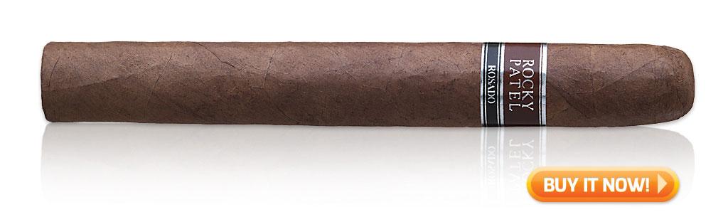 start smoking cigars again Rocky Patel Rosado cigars