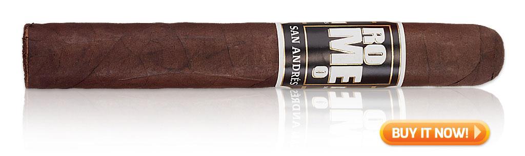 start smoking cigars again Romeo San Andres Toro
