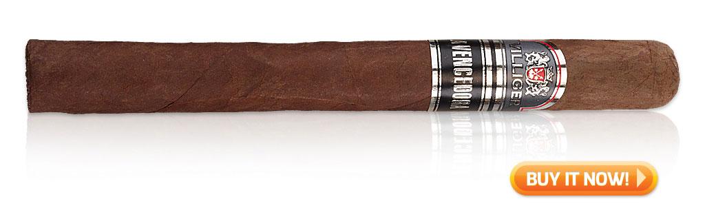 start smoking cigars again Villiger La Vencedora cigars