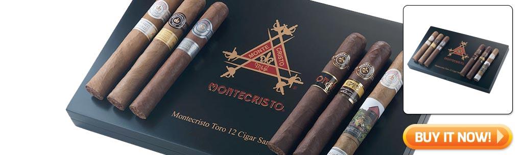 2018 father's day cigar gifts guide montecristo cigar sampler gift set