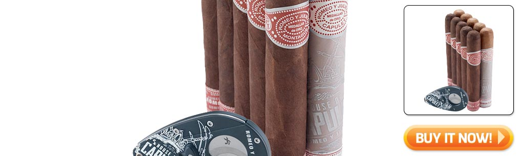 2018 Father's Day cigar gifts guide romeo y julieta cigars cut and light sampler