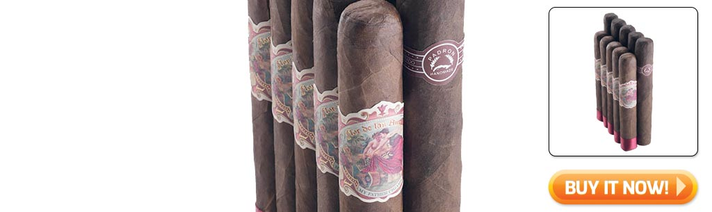 2018 Father's Day cigar gifts guide top rated maduro pairing