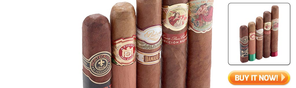 2018 Father's Day cigar gifts guide top shelf cigar sampler