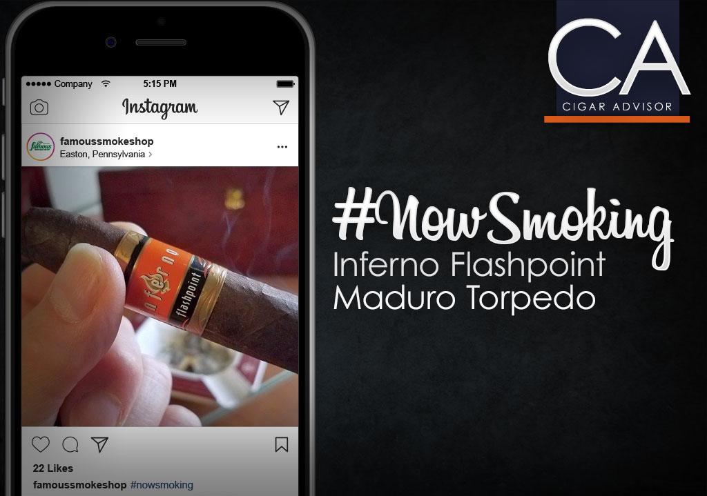 #NowSmoking: Inferno Flashpoint Maduro by Oliva